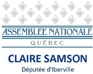 Claire Samson députée d'Iberville
