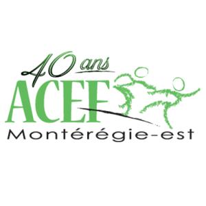 Logo ACEF Montérégie-Est