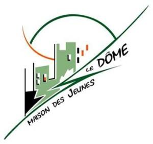 Logo Maison des jeunes Le Dôme