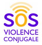 Logo SOS violence conjugale